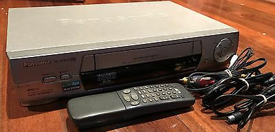 Panasonic Vhs/vcr Player | Nv-Hd630A | With Remote | *tested And Working*