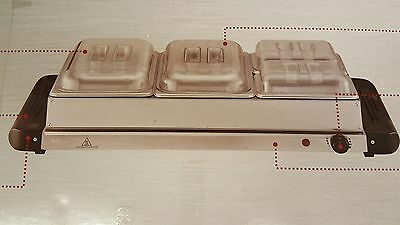 Ambiano Buffet Server With Warming 4 Tray