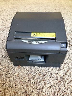 Star Micronics TSP800 Point of Sale Thermal Printer + AC Adapter