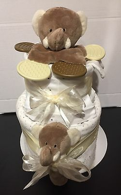 Elli & Raff Unisex Boy Girl Nappy Cake Baby Shower Gift