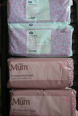 maternity pads 3 x new packets
