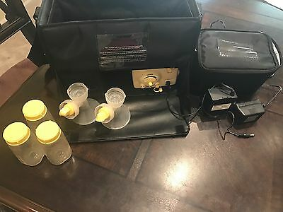 Medela Pump In Style Advanced Breast Double Pump, Shoulder Bag With Accessories