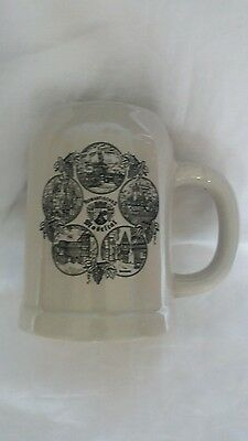 ROMANTISCHES AND MOSELTAL Beer Stein or Tankard 0.5L