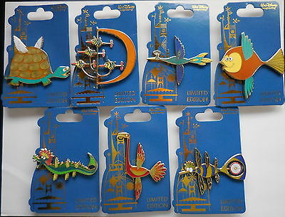Disney Pin WDI 2014 Tower Four Winds Critters Set of 7 Pins Le350