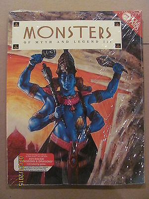 Monsters of Myth and Legend III Mayfair Games 1992 Advanced Dungeons & Dragons