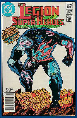 Legion of Super-Heroes #290 * The Great Darkness Saga begins * Darkseid