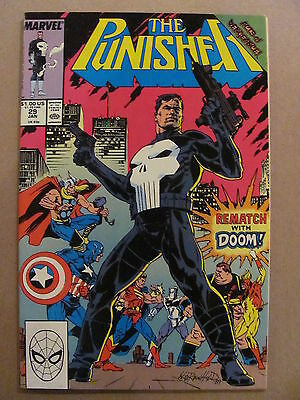Punisher #29 Marvel Comics 1987 Series Acts of Vengence 9.2 Near Mint-