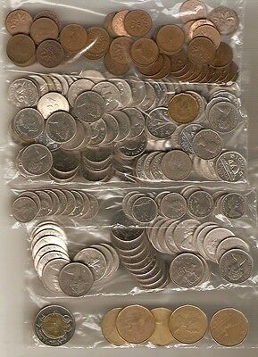 $25.09 Canadian Face Coins