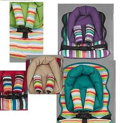 Universal Seat Liner Head Hugger And Strap Covers Obaby New