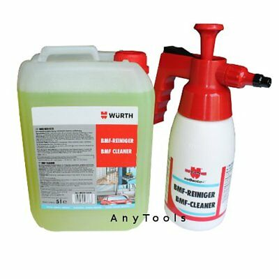 Wurth BMF 5L Workshop Cleaner Pump Spray Bottle BMF Selectable