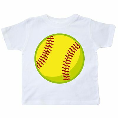 Inktastic Softball Toddler T-Shirt Sports Ball Team Girls Tees. Gift Child Kid