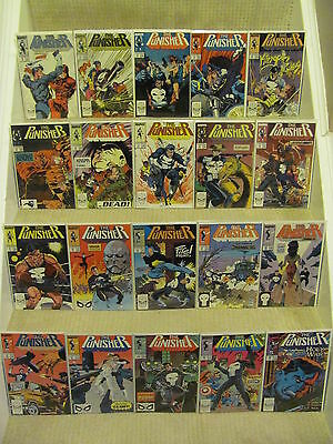 Punisher #10 to #83 plus Annuals #1 to 2 Marvel Comics 1987 Series Full Run