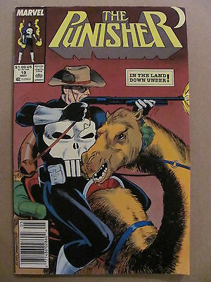 Punisher #19 Marvel Comics 1987 Series Newsstand Edition