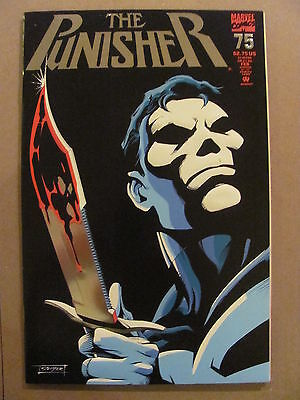 Punisher #75 Marvel Comics 1987 Series Embossed Silver Foil Cover 9.2 Near Mint-