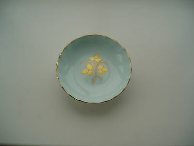 Royal Crown Derby Dish With Gold Pattern