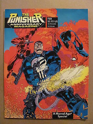 Punisher Anniversary Magazine A Marvel Age Special 1994