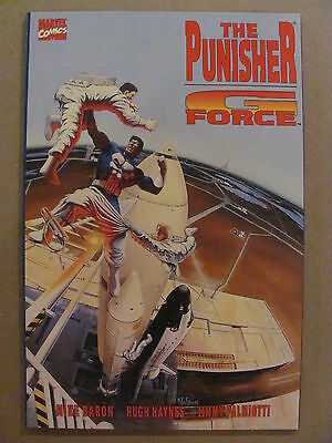 Punisher G-Force #1 Marvel Comics 1992 One Shot 9.6 Near Mint+