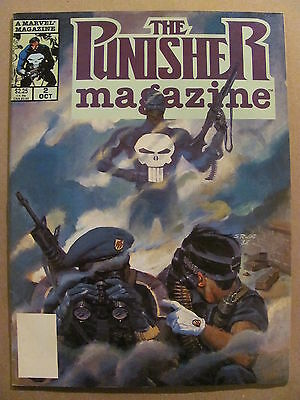 Punisher Magazine #2 Marvel Comics 1989 Series