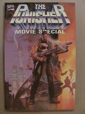 Punisher Movie Special Marvel Comics 1990 One Shot 9.6 Near Mint+