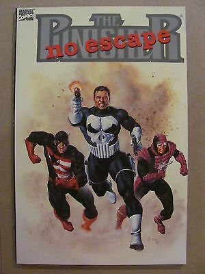 Punisher No Escape Marvel Comics 1990 One Shot 9.6 Near Mint+