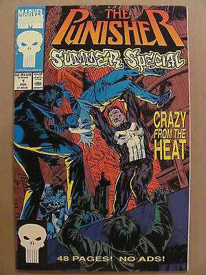 Punisher Summer Special #1 Marvel Comics 1991 - 9.4 Near Mint