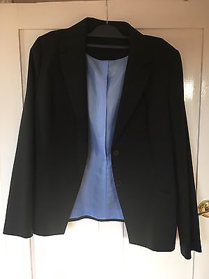 Smart Black Jacket By Berkertex. Size 16. New With Tags.