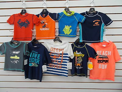 Infant & Toddler Boys Carter's Assorted Swim Shirts Size 3/6 Months - 3T
