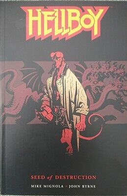 Hellboy Vol 1 Seed of Destruction softcover graphic novel