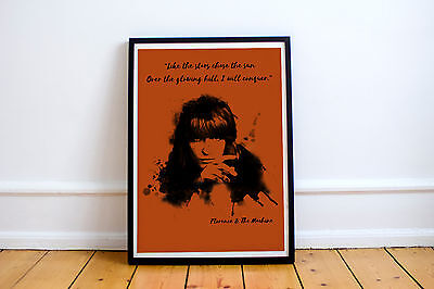 Art Print Florence And The Machine A4 Poster