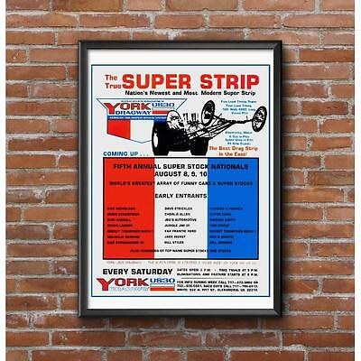 Super Strip - 1969 York US 30 Dragway Event Poster