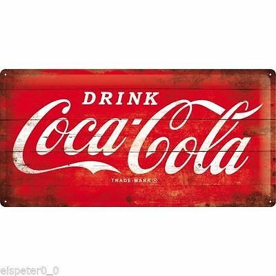 Coca Cola Sign - Embossed Sign XXL - RED - Protected product
