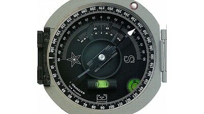 Brunton ComPro Pocket Transit International Compass with 0-360 Degree