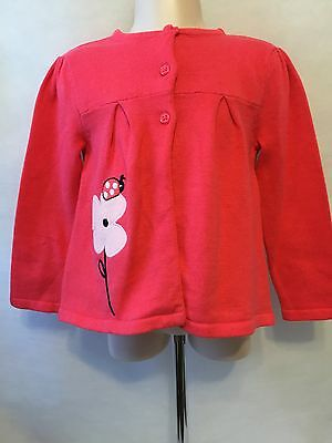New/Tags 12-18 Month Gymboree Baby Girl's 100% Cotton Button Front Sweater