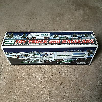 Brand New Hess 2003 Toy Truck And Race Cars  In Original Box