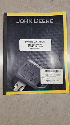 John Deere 509, 609, and 709 Rotary Cutters Factory Parts Catalog