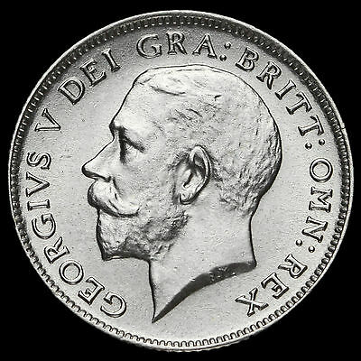 1921 George V Silver Sixpence, A/UNC