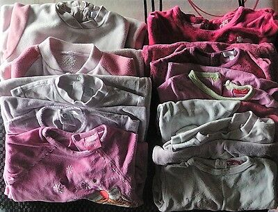 Lot De 10 Pyjamas 12 Mois Fille