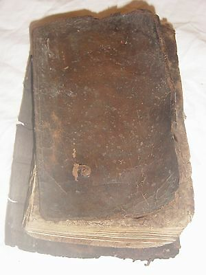 Antique 17Th Century Book,to The Right Honourable Thomas Earl Of Pembroke