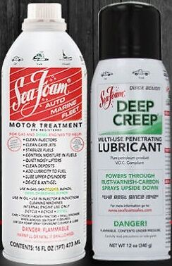 SEA FOAM Motor Treatment and Deep Creep Kit Pack SF16 + DC14