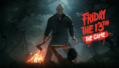 Friday the 13th The Game Steam (PC)  --- EUROPE ONLY!