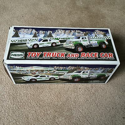 Brand New Hess 2011 Toy Truck And Race Car In Original Box
