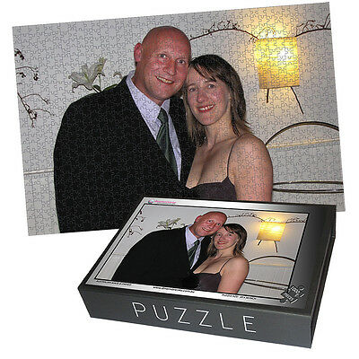 Custom Personalised Gift - 1000 PIECE JIGSAW PUZZLE-USING YOUR PHOTO- FREE BOX