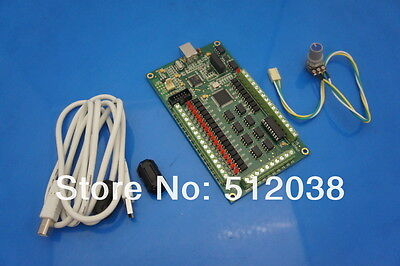 4 axis CNC Motion Controller USB Card Mach3   Breakout Board Interface AKZ250