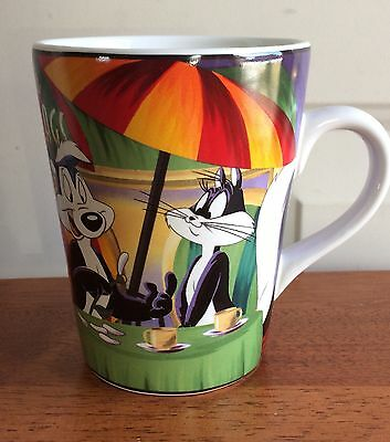 Six Flags Warner Bros. Coffee Tea Mug Cup 2000
