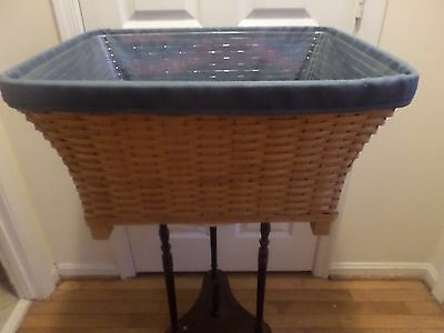 Longaberger  Hostess Housekeeper Huge Basket Combo