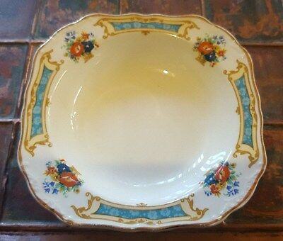 VINTAGE J & G MEAKIN ENGLAND SMALL SQUARE BOWL, NO:391413, 13cm x 3cm Deep