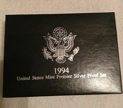 1994 United States Mint Premier Silver Proof Set