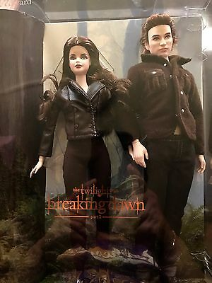 Twilight Barbie Bella And Edward Gift Set: Twilight Saga Pt 2: Breaking Dawn