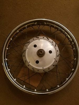 1970 Norton Commando Motorcycle Original Rear Wheel
