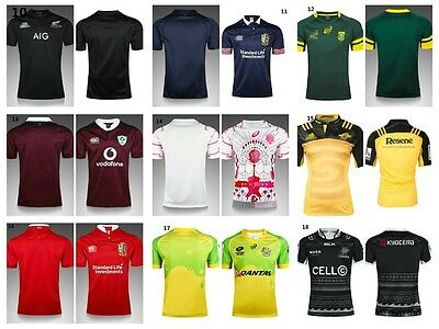 Men Rugby Jerseys Rugby Football Clothes Football Wear T-Shirts